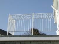 Powder Coated Balcony Balustrade