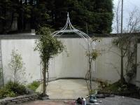 Ornamental Galvanized Pergola