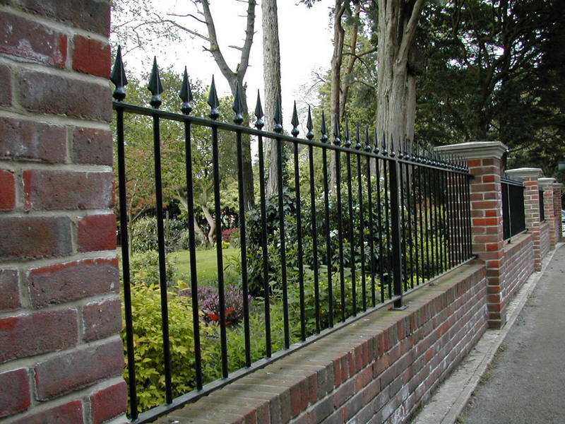 Traditional Railings Powder Coated Black