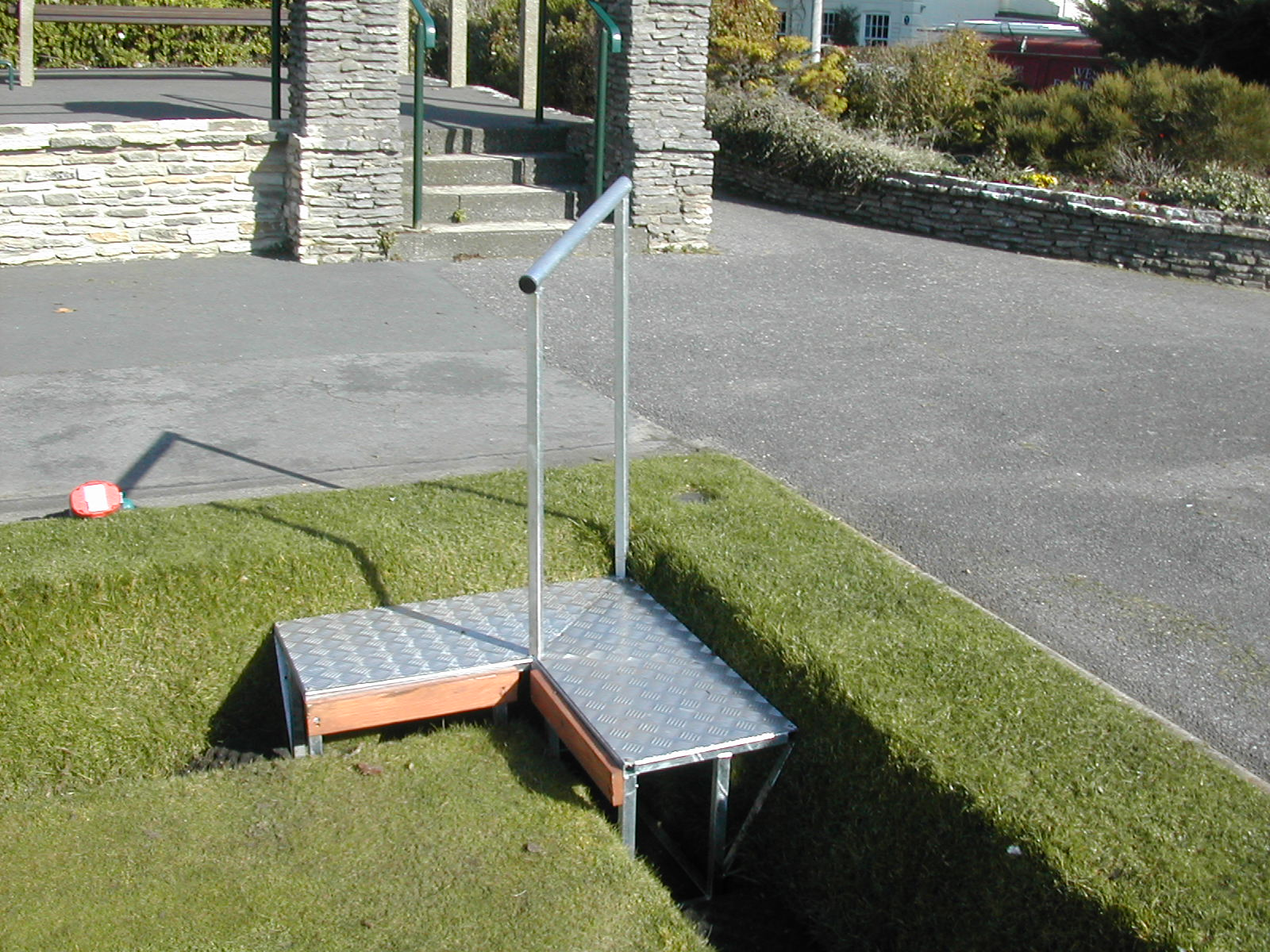 Bowling Green - Device for Getting Safely Across the Ditch