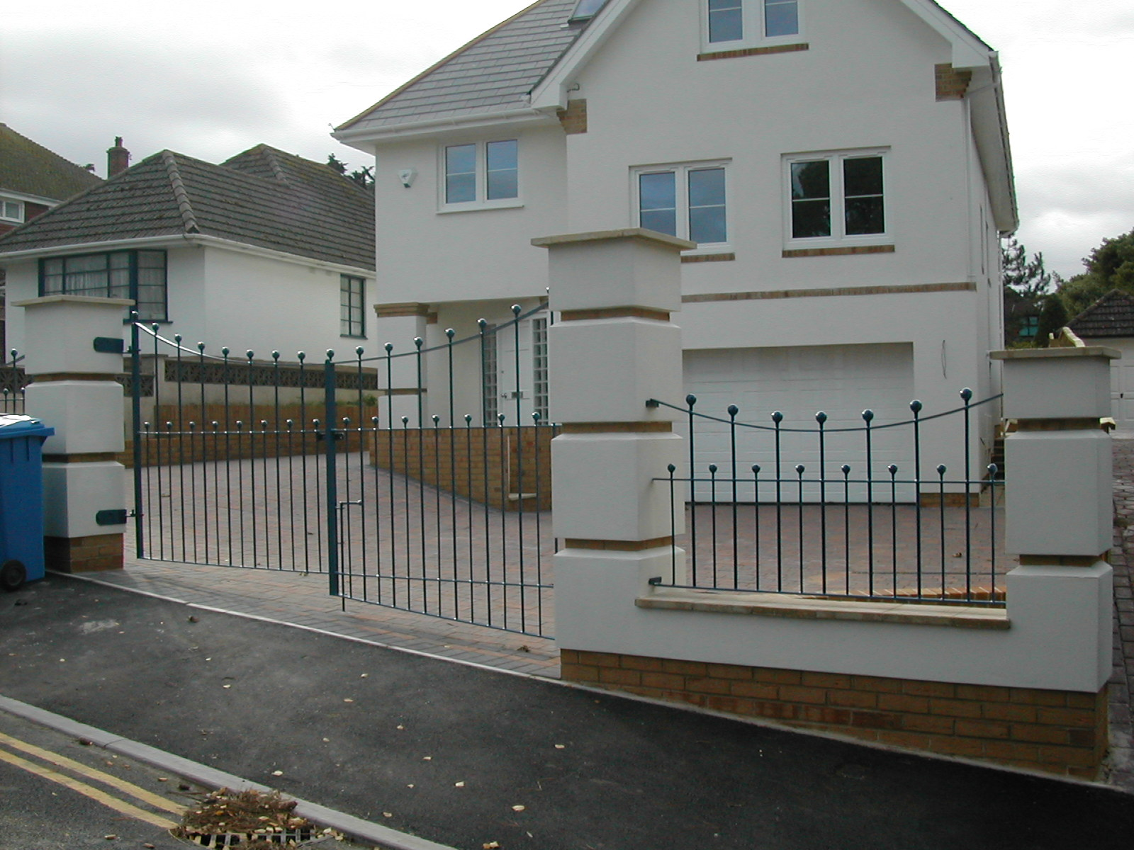 Decorative Gates with Safety 'Ball' Tops