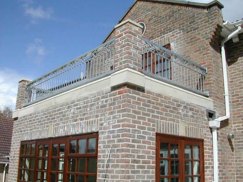 Galvanized Balcony Balustrade