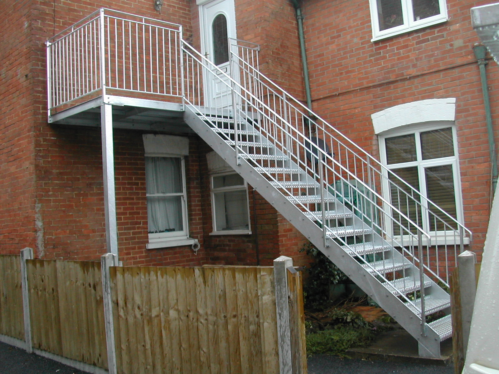 Stair and Landing to First Floor Flat
