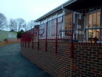 Balustrading at Stoborough 1st School