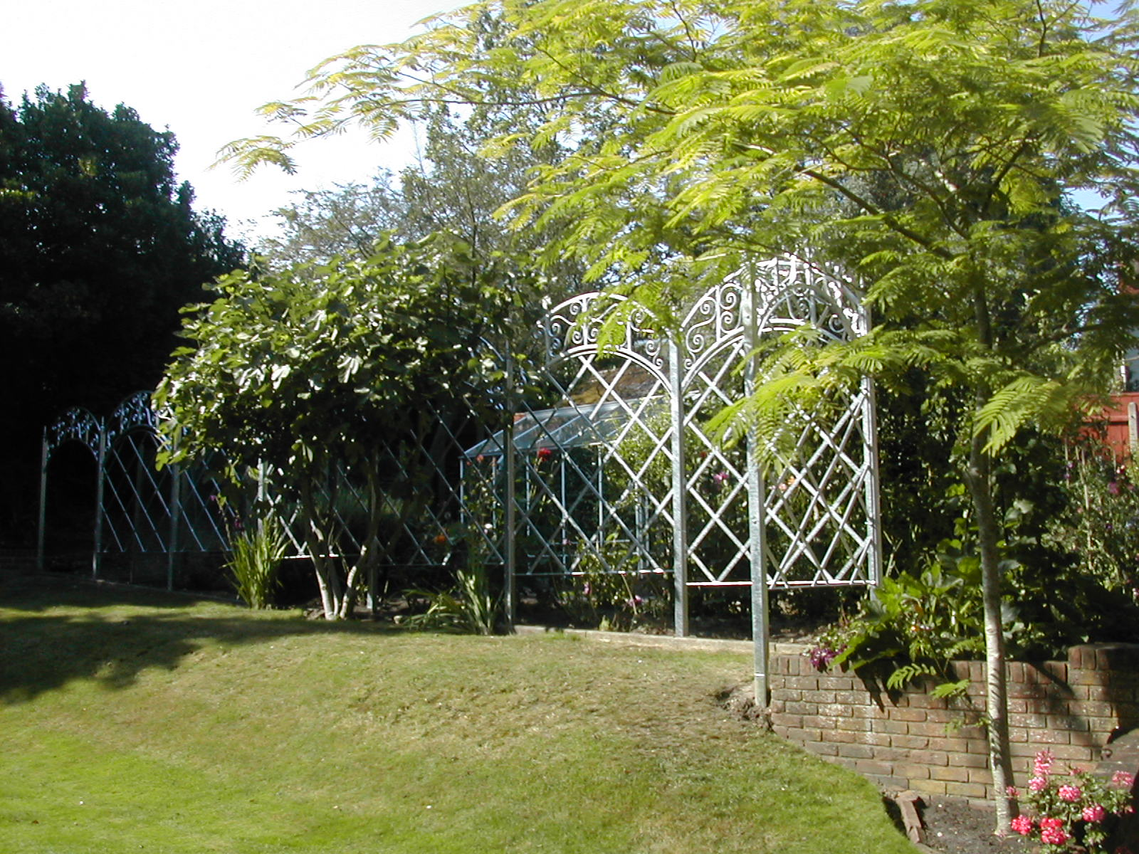 Galvanized Screens for Climbing Plants